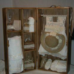 κουτί βάπτισης ντουλάπα - γεμάτο
